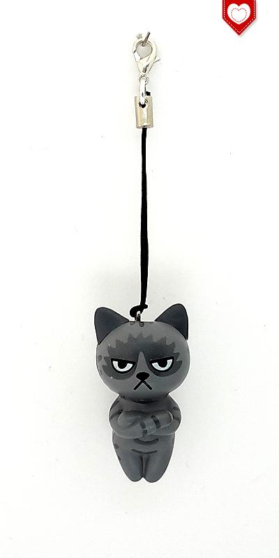 Angry Cats Nr 4 Handyanhänger