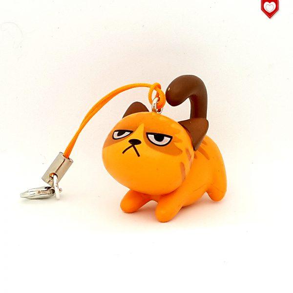Angry Cats Nr 3 Handyanhänger