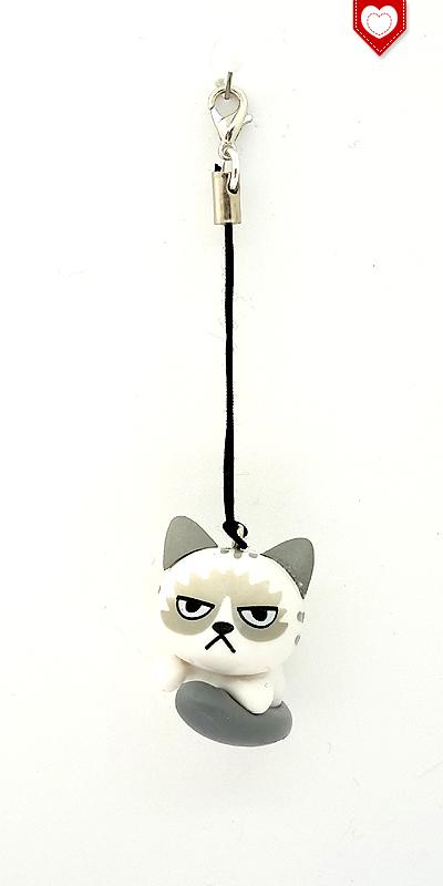 Angry Cats Nr 2 Handyanhänger
