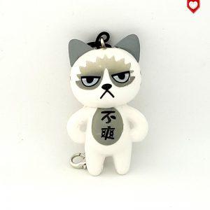 Angry Cats Nr 1 Handyanhänger