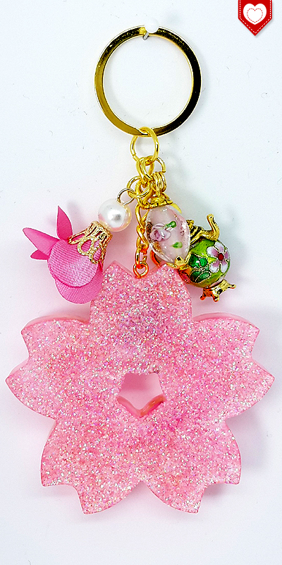 Kirschblüte Sakura Glück Premium Anhänger